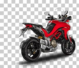 Honda Exhaust System Car Ducati Multistrada 1200 Motorcycle PNG