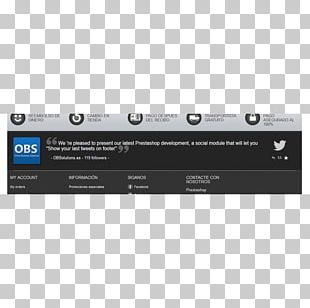 Page Footer PrestaShop Text Online Shopping PNG