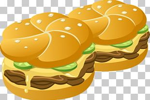 Hamburger Cheeseburger French Fries Hot Dog PNG