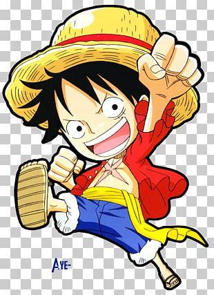 Monkey D. Luffy Goku Nami Tony Tony Chopper Chibi PNG
