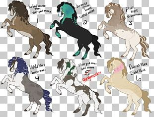 Friesian Horse Mustang Stallion Pony Pack Animal PNG