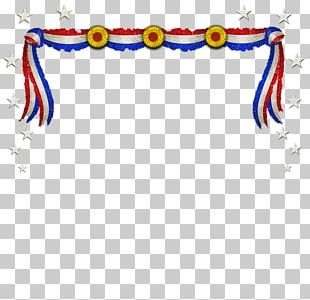 Independence Day Memorial Day Banner PNG
