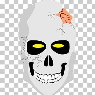 Human Skull ICO Icon PNG