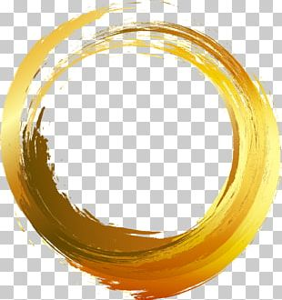 Circle Brush Painting PNG