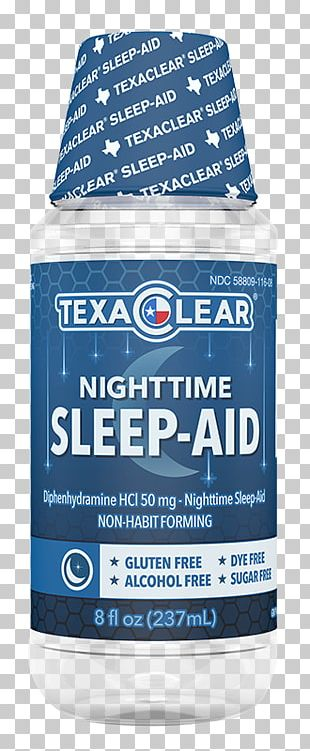 Sleep Aid (diphenhydramine) Common Cold Pain Insomnia PNG