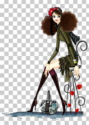 Fashion Illustration Fashion Design Girl Illustration PNG