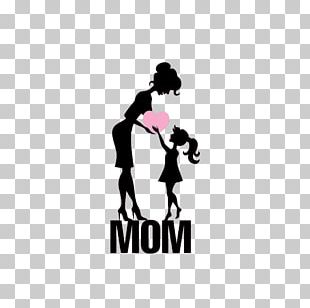 Mothers Day Daughter Illustration PNG