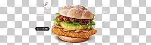 Cheeseburger Hamburger Fast Food McDonald's Chicken Sandwich PNG