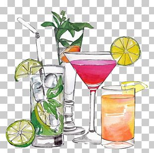 Cocktail Juice Margarita Drink PNG