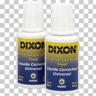 Correction Fluid Liquid Office Supplies Pencil Eraser PNG
