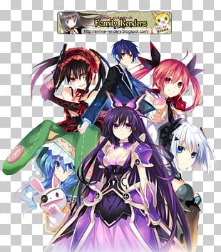 Date A Live Desktop Anime Mobile Phones PNG