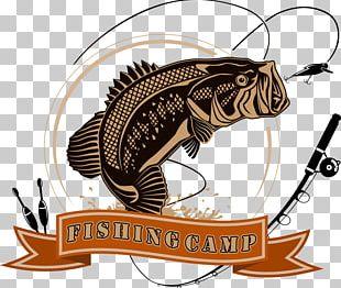Logo Fishing Angling Illustration PNG