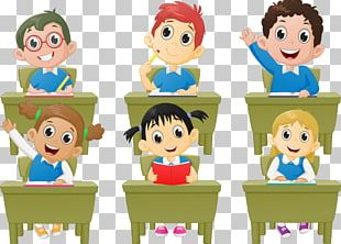 Student Classroom Lesson Cartoon PNG