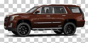 Tire 2018 Cadillac Escalade Luxury Vehicle Motor Vehicle Wheel PNG