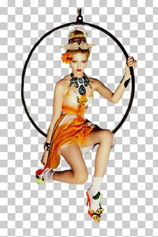 Woman Orange Red Dance PNG