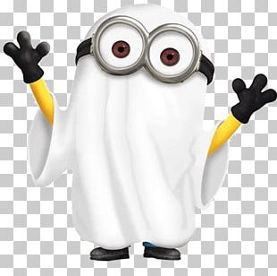 Minions Halloween Ghost Haunted House Humour PNG