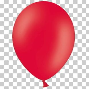 Toy Balloon Red Party Wedding PNG