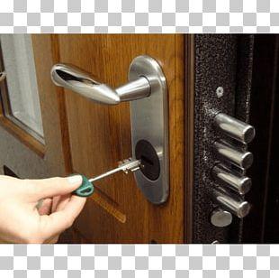 Electronic Lock Door Closer Key PNG
