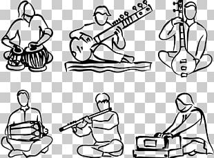 Music Of India Musical Instruments PNG