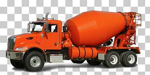 Car Ready-mix Concrete Cement Mixers Truck PNG
