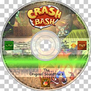 Crash Bash Compact Disc Television Show Alphabet Soundtrack PNG