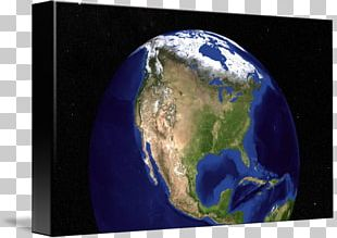 Earth The Blue Marble United States Globe PNG