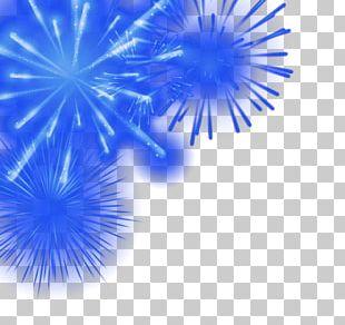 Adobe Fireworks Blue PNG