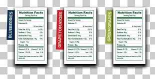 Nutrition Facts Label Food Carbohydrate Grape PNG