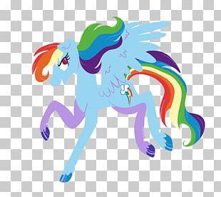 Horse Rainbow Dash Stairway To Heaven Unicorn PNG