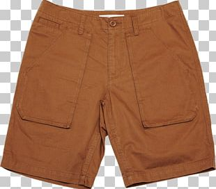 Short Pant Light Brown PNG