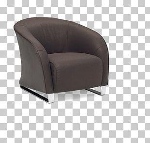Club Chair Eames Lounge Chair Natuzzi Recliner PNG
