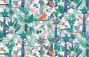 Textile Art Pattern PNG