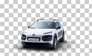 Citroën C4 Cactus Car Sport Utility Vehicle Bumper PNG