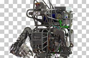 Humanoid Robot Atlas Military Robot PNG