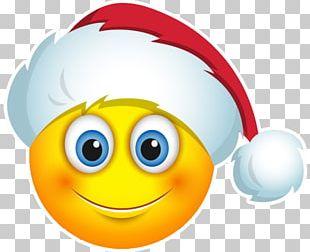 Smiley Santa Claus Emoji Emoticon Christmas Day PNG