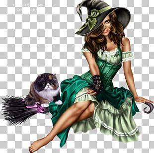 Boszorkány Halloween PNG