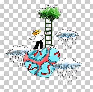 Cartoon Graphic Design Rain Illustration PNG