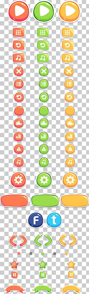Two Dots User Interface Design Video Game PNG
