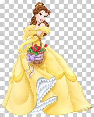 Belle Beast Cinderella Ariel Princess Jasmine PNG