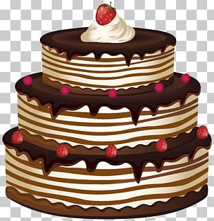 Birthday Cake Chocolate Cake Cupcake PNG
