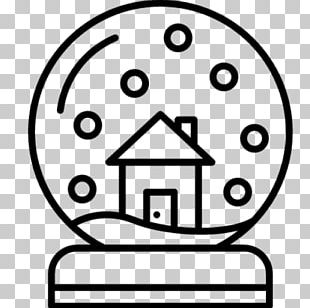 Computer Icons Black And White Snow Globes PNG