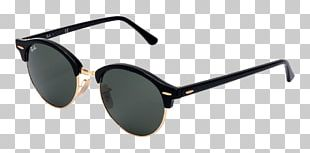 Ray-Ban Clubmaster Classic Aviator Sunglasses Clothing Accessories PNG