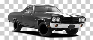 Chevrolet El Camino Car Wheel Tire PNG