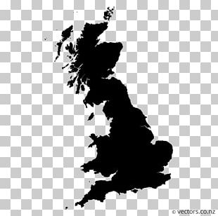 West Midlands British Isles Map PNG