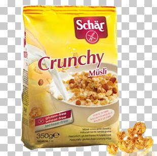Muesli Breakfast Dr. Schär AG / SPA Gluten-free Diet PNG