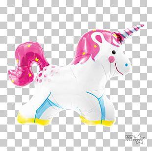 Mylar Balloon Unicorn Party Birthday PNG