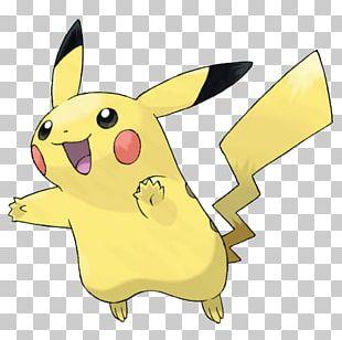 Pikachu Pokémon Gold And Silver Pokémon X And Y PNG