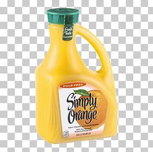 Simply Orange Juice Company Apple Juice Cranberry Juice PNG