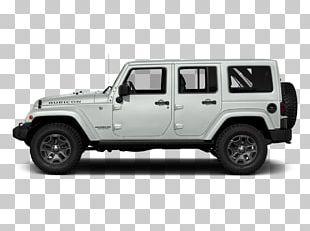 2018 Jeep Wrangler JK Unlimited Rubicon Car Chrysler Sport Utility Vehicle PNG