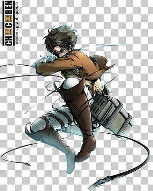 Eren Yeager Mikasa Ackerman Attack On Titan Armin Arlert Levi PNG